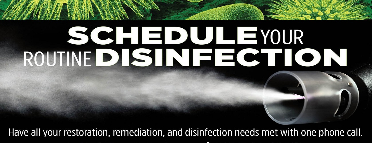 Schedule Routine Disinfection - SteraMist